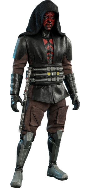 Darth Maul Sixth Scale Figure by Hot Toys Star Wars: The Clone Wars - Television Masterpiece Series