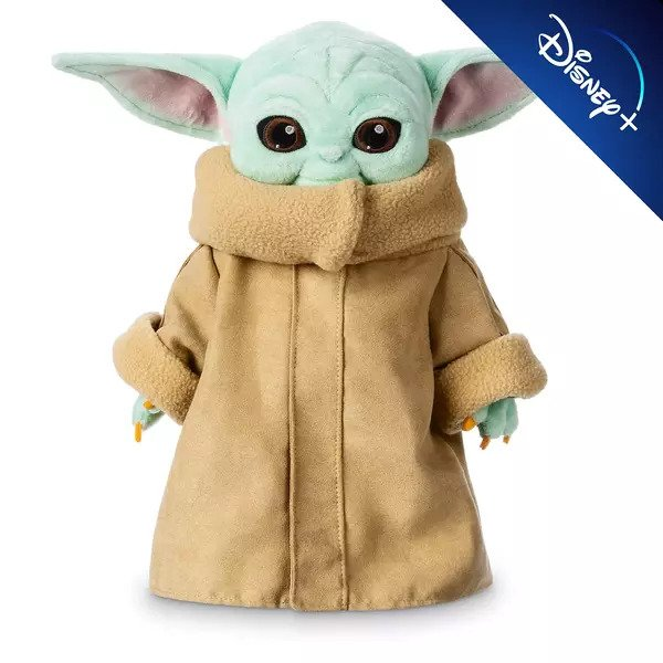 Disney Store The Child - Baby Yoda Small Soft Toy - Star Wars: The Mandalorian