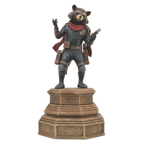 Marvel Movie Gallery Avengers: Endgame Rocket Raccoon Statue