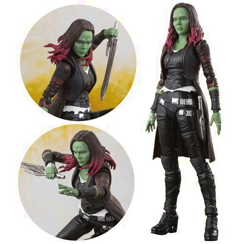 Infinity War Gamora S.H.Figuarts Action Figure
