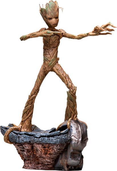 Groot 1:10 Scale Statue by Iron Studios