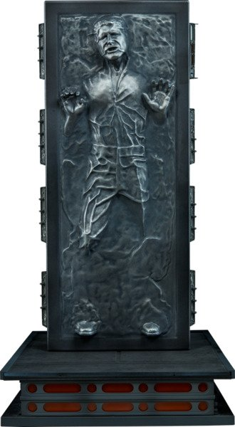 Han Solo in Carbonite Sixth Scale Figure by Sideshow Collectibles