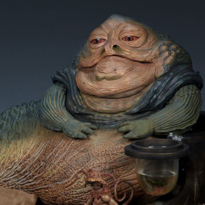 Jabba the Hutt and Throne Statue