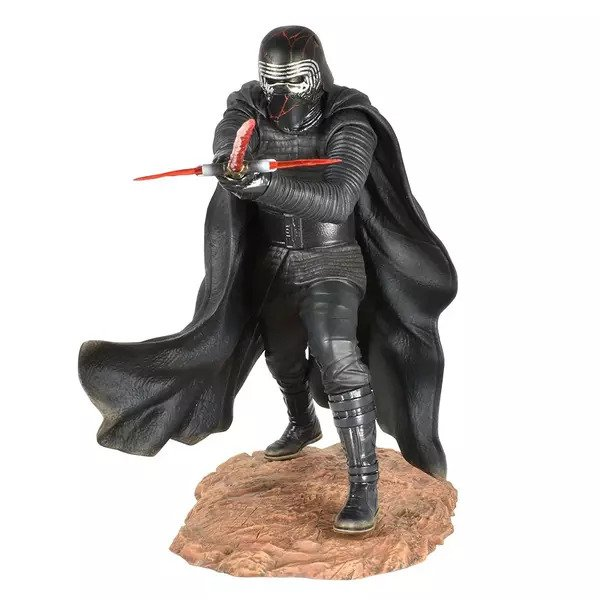 Kylo Ren - Premier Collection Statue - Star Wars: The Rise Of Skywalker - Diamond Select Toys