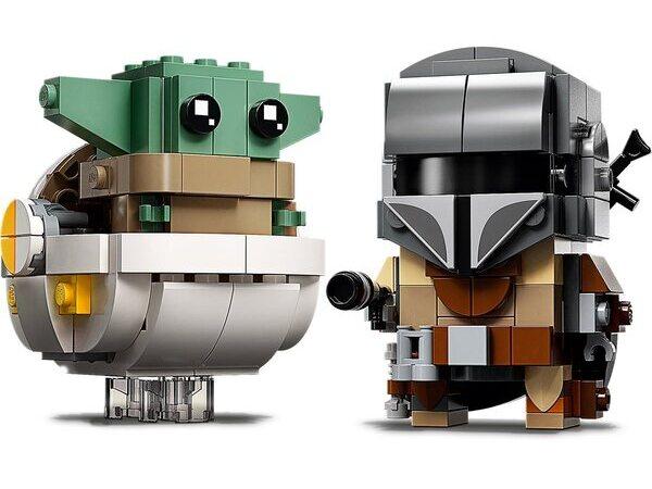 LEGO 75317 Star Wars The Mandalorian & The Child BrickHeadz