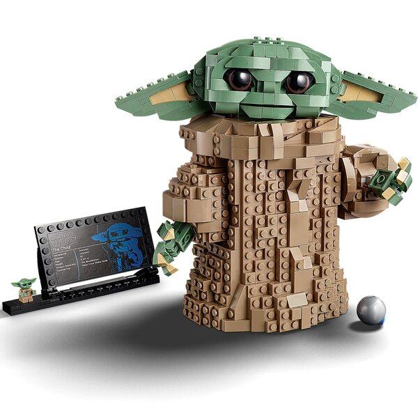 Grogu / Baby Yoda LEGO Figure  - LEGO Star Wars 75318