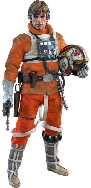 Luke Skywalker Sixth Scale Figure by Hot Toys Star Wars The Empire Strikes Back 40th Anniversary Collection