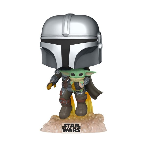 Star Wars The Mandalorian Flying Pop! Vinyl Figure