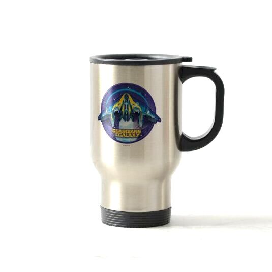 GOTG Milano Badge Travel Mug