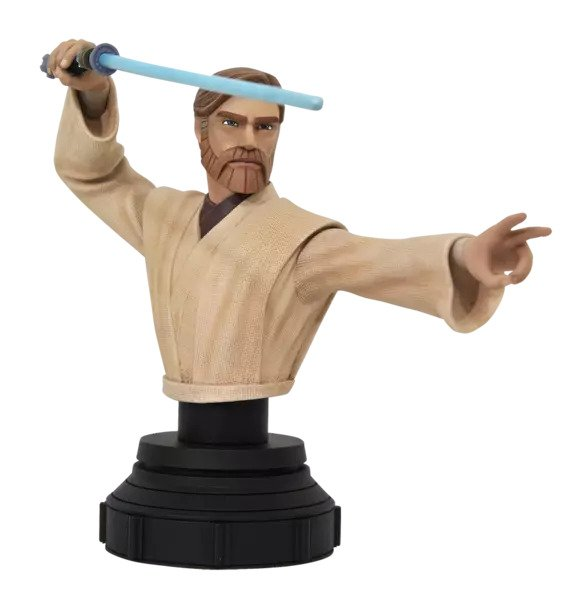 Obi-Wan Bust Star Wars: The Clone Wars Diamond Select Toys