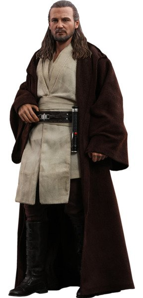 Qui-Gon Jinn Sixth Scale Figure by Hot Toys Star Wars Episode 1: The Phantom Menace - Movie Masterpiece Series