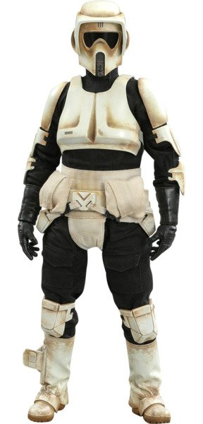 Scout Trooper - Sixth Scale Figure by Hot Toys The Mandalorian - Television Masterpiece Series