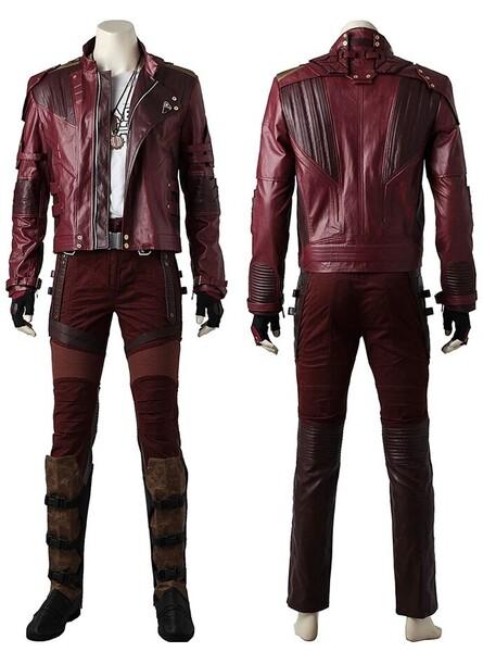 Infinity War Peter Quill Cosplay Premium Costume
