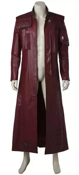 Peter Quill Cosplay Long Coat