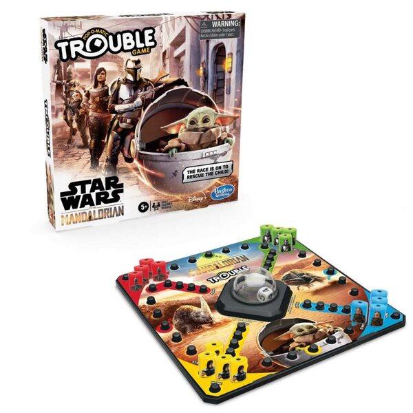 Hasbro Star Wars The Mandalorian Edition Trouble Game