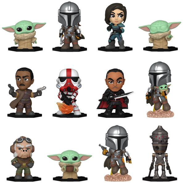 Star Wars The Mandalorian Mystery Minis Mini-Figure Display Case