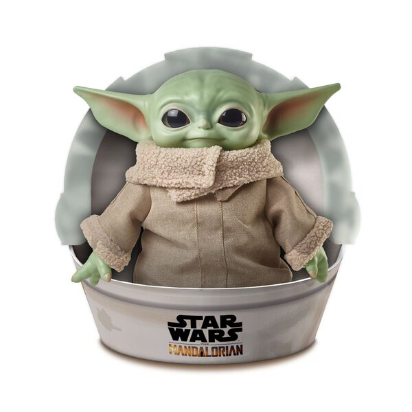 Mattel Star Wars The Mandalorian The Child 11-Inch Baby Yoda Plush