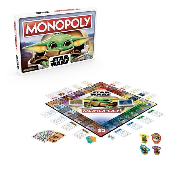 Star Wars The Mandalorian Edition Monopoly Game