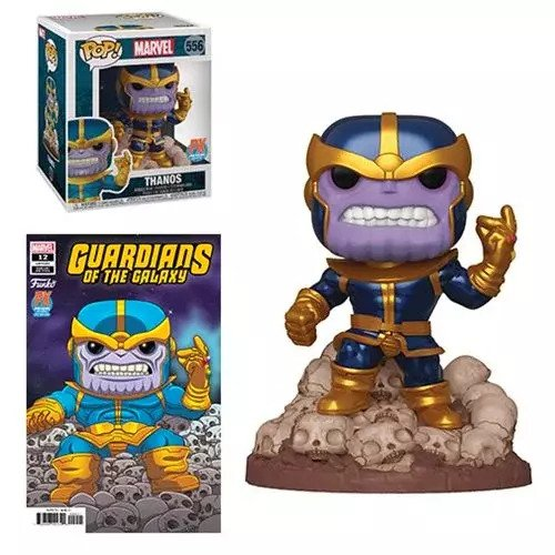 Guardians of the Galaxy Marvel Heroes Thanos Snap 6-Inch Pop! Vinyl Figure