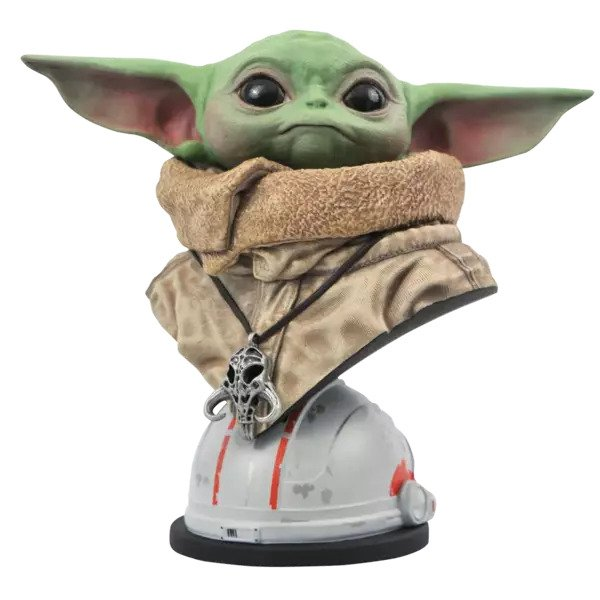 The Child (Baby Yoda) Bust - Star Wars: The Mandalorian -  Diamond Select Toys
