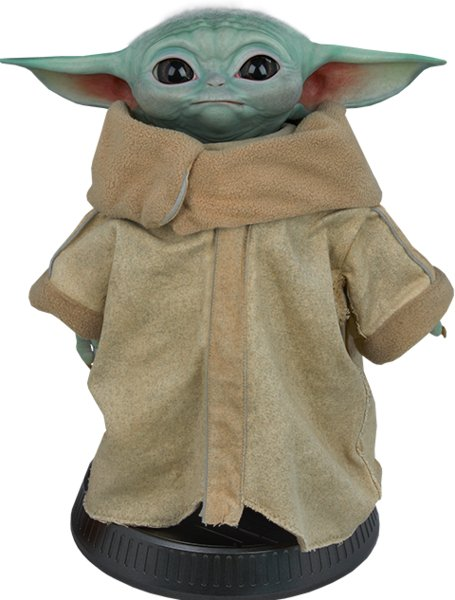 The Child, Baby Yoda Life-Size Figure by Sideshow Collectibles