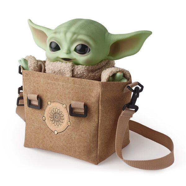 Mattel Baby Yoda Premium Plush Bundle - 11-inch Plush Toy