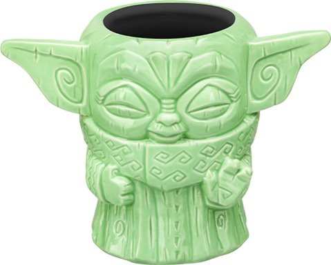 Beeline Creative Geeki Tikis - The Mandalorian - Baby Yoda Tiki Mug - The Child (Force Pose)