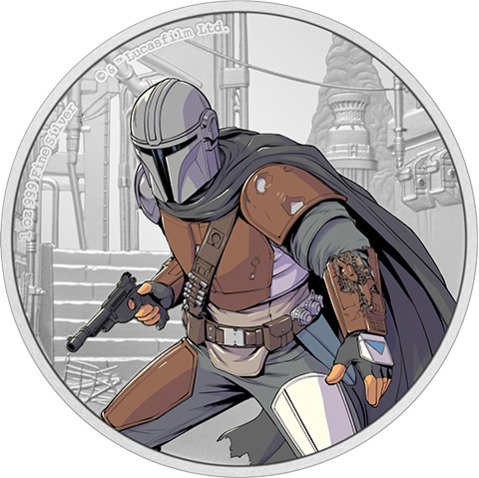 The Mandalorian 1oz Silver Coin