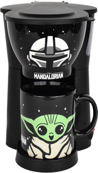 The Mandalorian Inline Single Cup Coffee Maker with Mug by Uncanny Brands