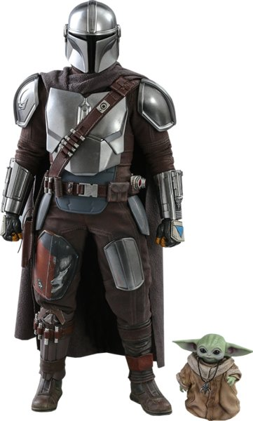 The Mandalorian and The Child Collectible Set by Hot Toys