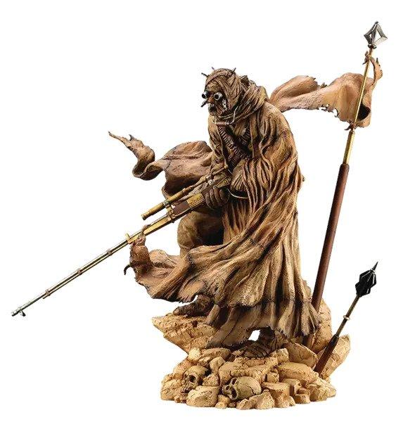 Tusken Raider: Barbaric Desert Tribe - Star Wars: A New Hope: ArtFX Statue -   Kotobukiya