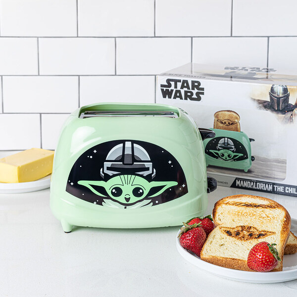 The Child - Baby Yoda 2 Slice Toaster - Uncanny Brands, Mandalorian
