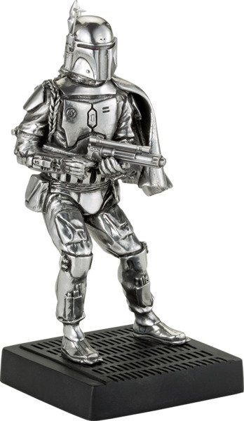 Boba Fett Figurine Pewter Collectible by Royal Selangor