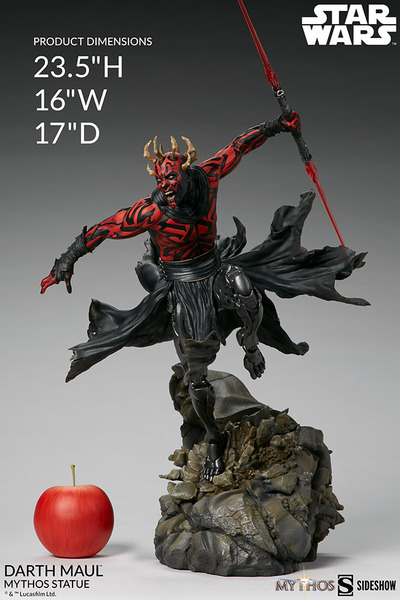 "23.5"" Darth Maul Mythos Statue"