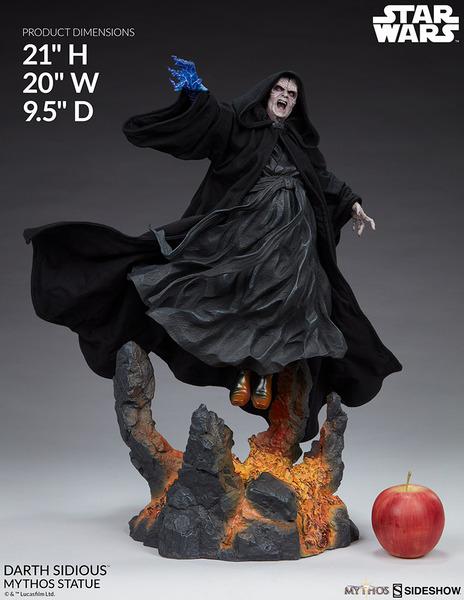 21 inch Star Wars Darth Sidious Statue