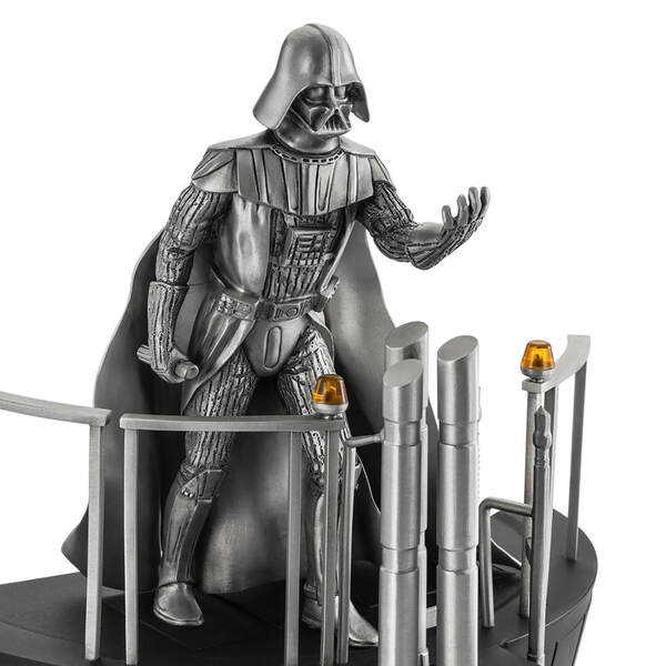 Darth Vader as Featured in Pewter Diorama