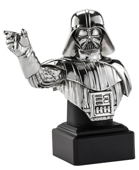 Darth Vader Bust Pewter - Star Wars  Collectible by Royal Selangor