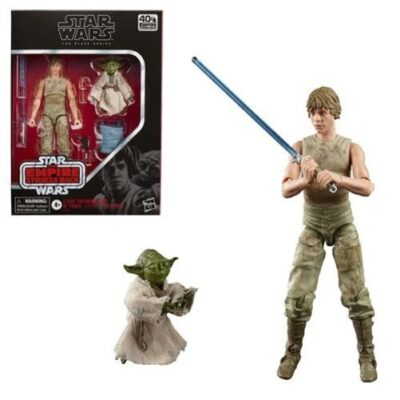 Luke Skywalker and Yoda (Jedi Training) 6-Inch Action Figures - Star Wars The Black Series