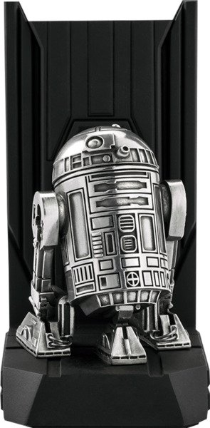 R2-D2 Bookend Pewter Collectible by Royal Selangor