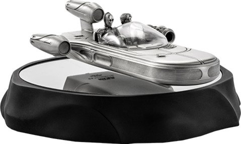 Hovering X-34 Landspeeder - Pewter Collectible by Royal Selangor