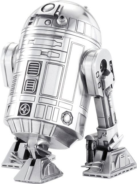 R2-D2 Canister - Pewter Collectible by Royal Selangor