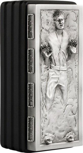 Han Solo Frozen Container - Pewter , Porcelain - by Royal Selangor