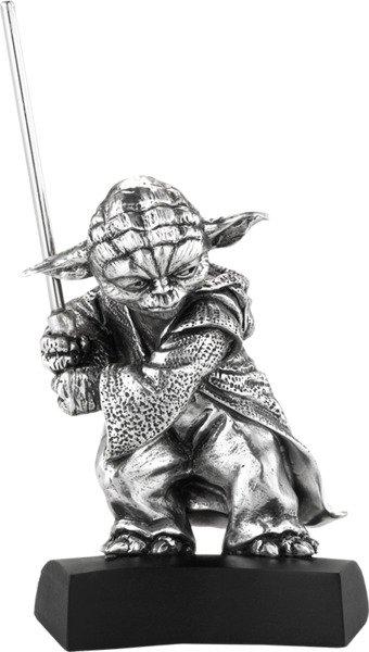 Selangor Pewter Yoda Figurine - Pewter Collectible by Royal Selangor