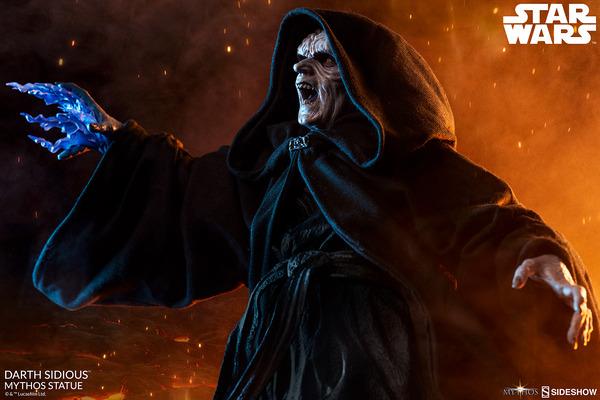 Star Wars Sideshow Collectibles Darth SidiousMythos Statue