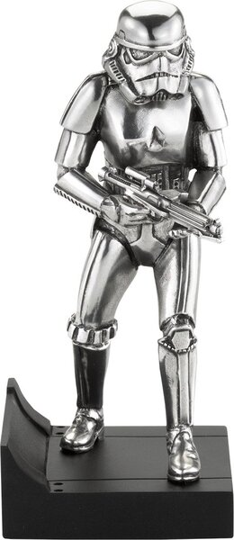 Pewter Collectible Stormtrooper Figurine by Royal Selangor