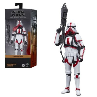 Incinerator Trooper Star Wars The Black Series 6-Inch Action Figure