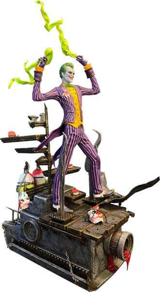 Arkham Asylum Joker Statue by Silver Fox Collectibles