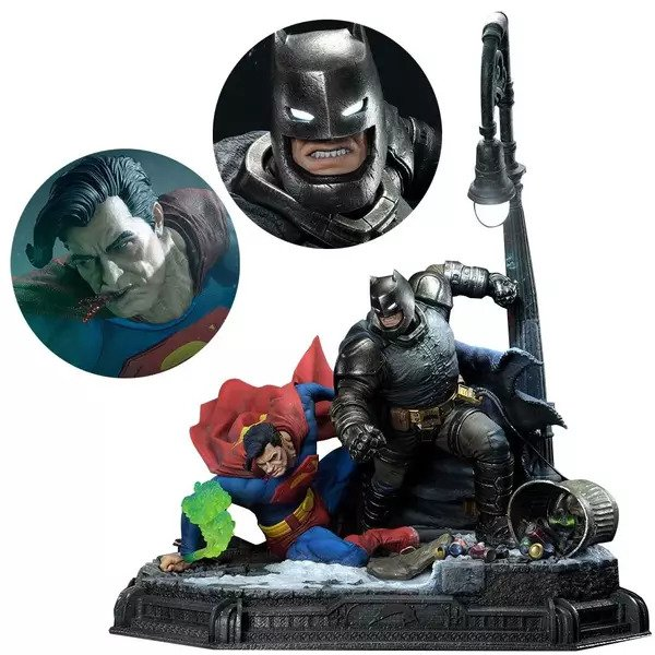 Top Geeky Collectables - Batman vs Superman Ultimate Diorama - The Dark Knight Returns 1:3 Scale Statue by Masterline