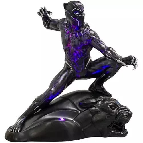 Top Geeky Collectables - Black Panther Life-Size Light-Up Statue by Rubies