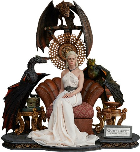 Game of Thrones - Daenerys Targaryen, Mother of Dragons - 1:4 Scale Statue by Blitzway